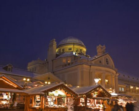 The traditional Christmas market in Merano