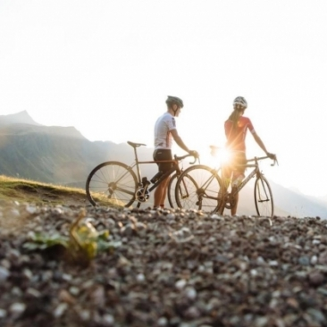 Cycling tour from Resia Pass to Verona