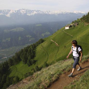 The high-alpine Merano Trail