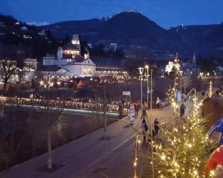 Der traditionelle Meraner Weihnachtsmarkt