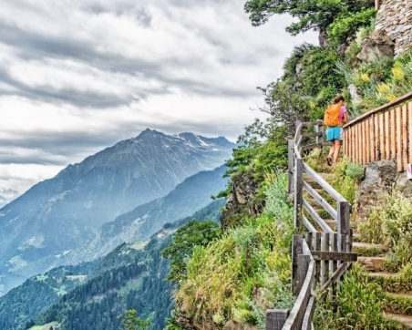 The high-alpine Merano Trail